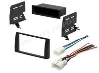 Complete Radio Stereo Dash Kit w/Wire Harness Install for 2002-2006 Toyota Camry