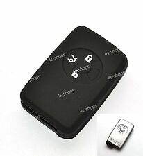 Black Silicone Smart Key Case Cover Holder Shell For Toyota Reiz RAV4 Corolla 3B