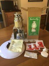 Vintage Butterfly Rapid 828/350 CP Kerosene Pressure Lantern New in Opened Box