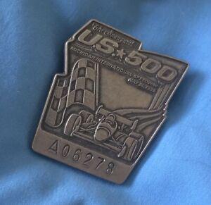 The INAUGURAL U.S. 500 Silver Badge 1996 May 26, @ M.I.S.