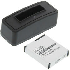 Ladegerät + Akku Typ Rollei AC230 Batterie Ladestation Accu Battery Ersatzakku