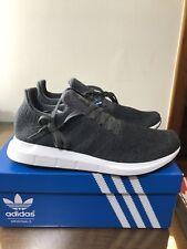 Adidas Originals Men's Swift Run Shoes Grey/White CG4116 Size 11