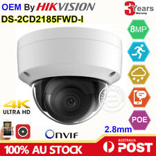 Hikvision 4K OEM DS-2CD2185FWD-I 8MP Security Dome IP Camera POE IR30 H.265 IP67