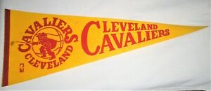 Cleveland Cavaliers Vintage 1970's FULL SIZED PENNANT