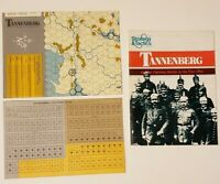 1978 SPI Strategy & Tactics #69 Board Game Magazine Tannenberg Unpunched