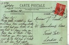 Family History Postcard - Smith - Forest Gate - London - Ref 2395A