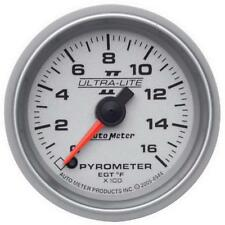 "Auto Meter Boost/Pyrometer Gauge 4944; Ultra-Lite II Kit 1600°F 2-1/16"" Electric"