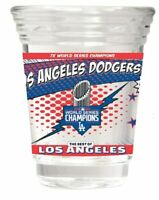 Los Angeles Dodgers 7-Time World Series Champions Party Shot Glass