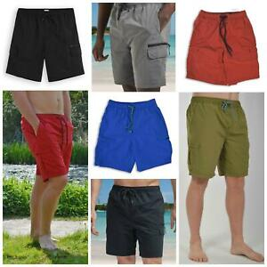NEXT Mens Lined Swim Shorts Zip Pockets Size 2XL 3XL