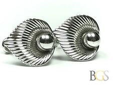 Unique & Modern Ladies Sterling Silver Earrings - Signed A & Z - Take A Look!