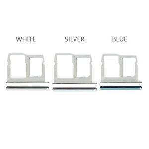 New Fit LG Stylo 6 Sim Card Holder Tray - Silver / White / Blue fours0