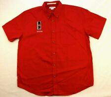 Ferrari Club of America Southwest Staff Button Shirt L Large Red Concorso Cars