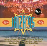 KISS IN IBIZA '95 various (2X CD, album, compilation, 1995) house, garage house