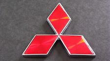 Red Diamond Badge 4.7cm Mitsubishi