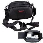Black Camera Case Bag Pouch For PANASONIC Lumix DMC-TZ100EB-K,DC-TZ90EB-S