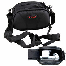 Black Camera Case Bag Pouch For SONY Alpha NEX-3N NEX-5T NEX-6 NEX-7+Prime Lens