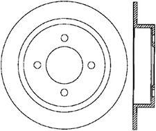 Disc Brake Rotor fits 1991-1999 Nissan Sentra 200SX NX  C-TEK BY CENTRIC