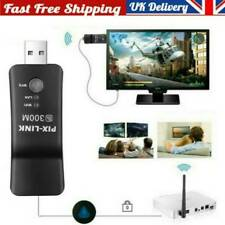 More details for wireless lan adapter wifi dongle rj-45 ethernet cable for samsung smart tv uk