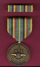 Navy and USMC Unit Commendation medal with ribbon bar