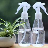 200ML Plastic Cleaning Hand Trigger Spray Bottle Empty Garden Water Clear UK