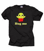 Funny T-Shirt Hug Me Cactus Tee Shirt
