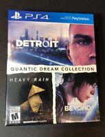 Quantic Dream Collection [ Detroit + Heavy Rain + Beyond Two Souls ] (PS4) NEW