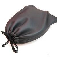 PU Leather Soft Bag Pouch Case For Around Earphone AE TP-1 DJ Headphone Black BF