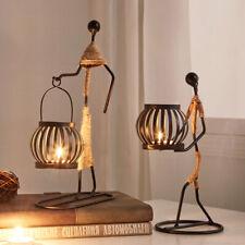 Kerzenhalter Deko Teelicht Kerzenständer Metall Kandelaber Kunstobjekt skulptur