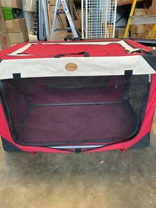Pet Dog Puppy Cage Waterproof Cover Collapsible Metal Crate Kennel