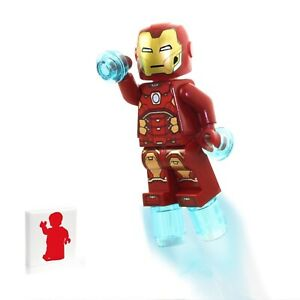 LEGO Avengers Super Heroes Minifigure - Iron Man (with Power Blasts) Foil Pack