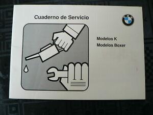 CUADERNO DE SERVICIO MODELOS K AND MODELOS BOXER 2 E AUFLAGE SPANISCH 1991 ?