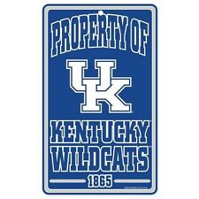 Kentucky Wildcats ~ Property of 1865 Wall Display 7.25 x 12 Sign Decoration
