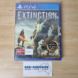 Extinction + Bonus Content - NEW + Sealed - PS4 Sony PlayStation 4 R4 AUS