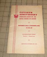 1960 LOOM Moose Lodge 50th Anniversary Program - Steelton, PA #382