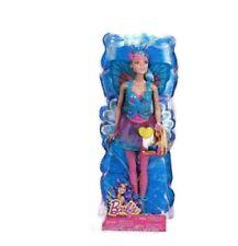 """Mattel Barbie """"Türkis-Blau-Mix und """"Match Fee"""" mit Glitzer Flügeln und Kleid"""