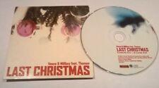 VASCO & MILLBOY FT THOMAS * LAST CHRISTMAS * 2 TRK CD 2003 WHAM GEORGE MICHAEL
