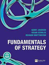 Fundamentals of Strategy, Good Condition Book, Prof Gerry Johnson, Prof Kevan Sc