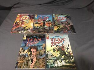 Team Yankee Comics #1-5 First Comics NM 🔥