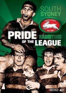 NRL South Sydney Rabbitohs - Pride Of The League 1967-71  -Brand new 4dvd set!