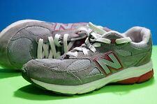 New Balance 990 Shoes Sz 5 Sneakers Grey Pink White Womens KJ990GPG