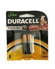 Duracell Alkaline AAA Batteries - 2 Pack