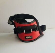 """barkOutfitters Dog Vest Harness Girth Only Red Size 22"""" - 28"""""""