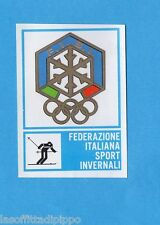 CAMPIONI dello SPORT 1973/74-Figurina n.332- SPORT INVERNALI -STEMMA-Rec