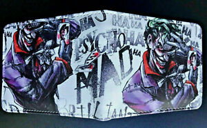 The Joker Wallet Purse DC Comics Superhero Villain The Batman Cartoon Movie AUS