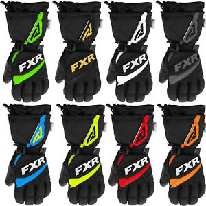 FXR Fuel Glove Breathable Waterproof Polar Fleece Lining Thinsulate Snowmobile