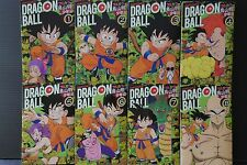 "JAPAN Akira Toriyama manga: Dragon Ball Full color ""Shonen-hen"" 1~8 Complete Set"