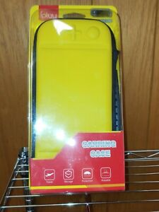 Nintendo Switch Lite Console Carrying Case  Protective Storage Bag Pouch Yellow
