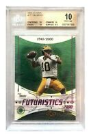2000 Upper Deck Ionix Tom Brady Rookie Card #77 BGS 10 #D/2000 Pop 29 RC UD