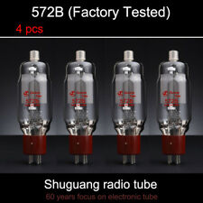4pcs Matched Pair Tested by Factory Shuguang 572B Vacuum Tube upgrade FU811 811A