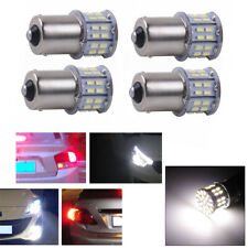 1156 LED indicador de viraje de Freno De Cola Bombilla Coche BA15S Blanco 4PCS